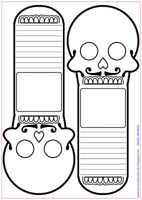 Me Encanta Escribir En Espanol Calavera Para El Dia De Los Muertos Actividades Dia De Muertos Dia De Muertos Manualidades Dia De Muertos