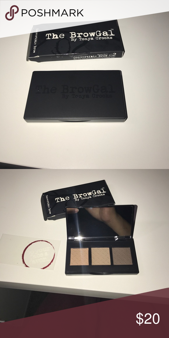 The browgal convertible brow The browgal convertible brow brand new, retail price is $35. the browgal Makeup Eyebrow Filler
