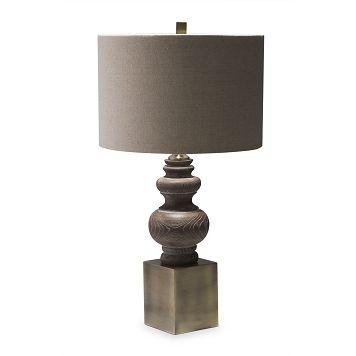 Baluster Lighting Table Lamp   Value City Furniture $89.99