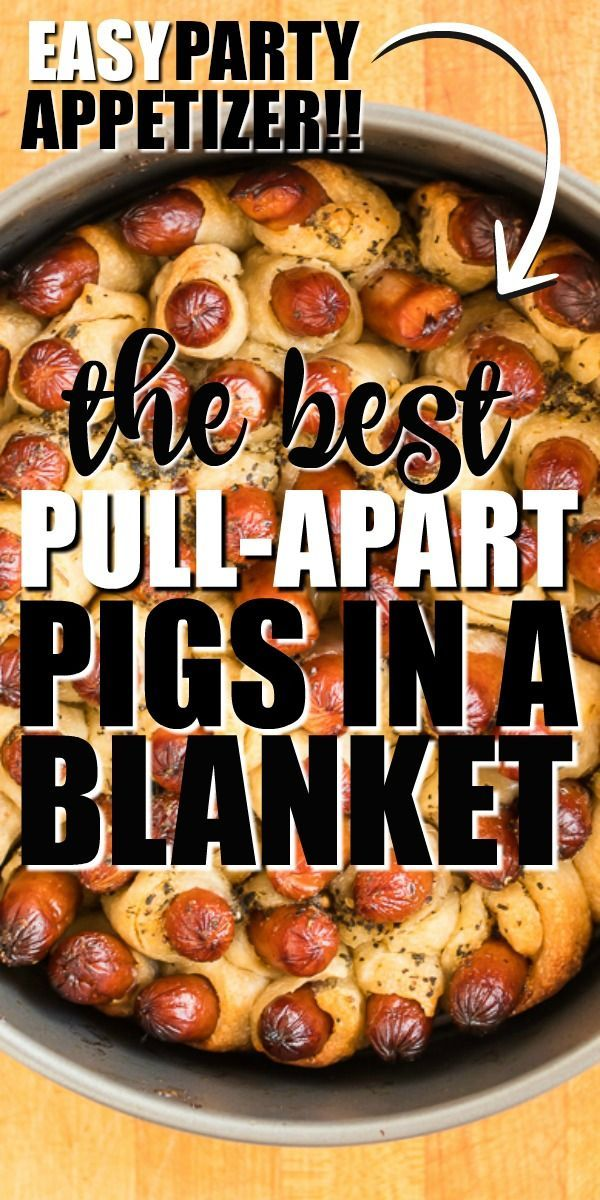 Photo of Pull Apart Pigs in a Blanket
