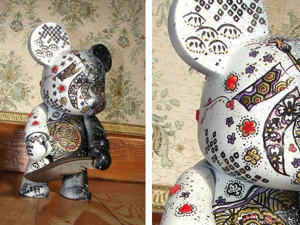 A Qee bear '8 customised by Méli-méow