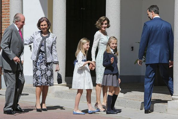 Spanish Royals attends their daughter Leonor's first communion