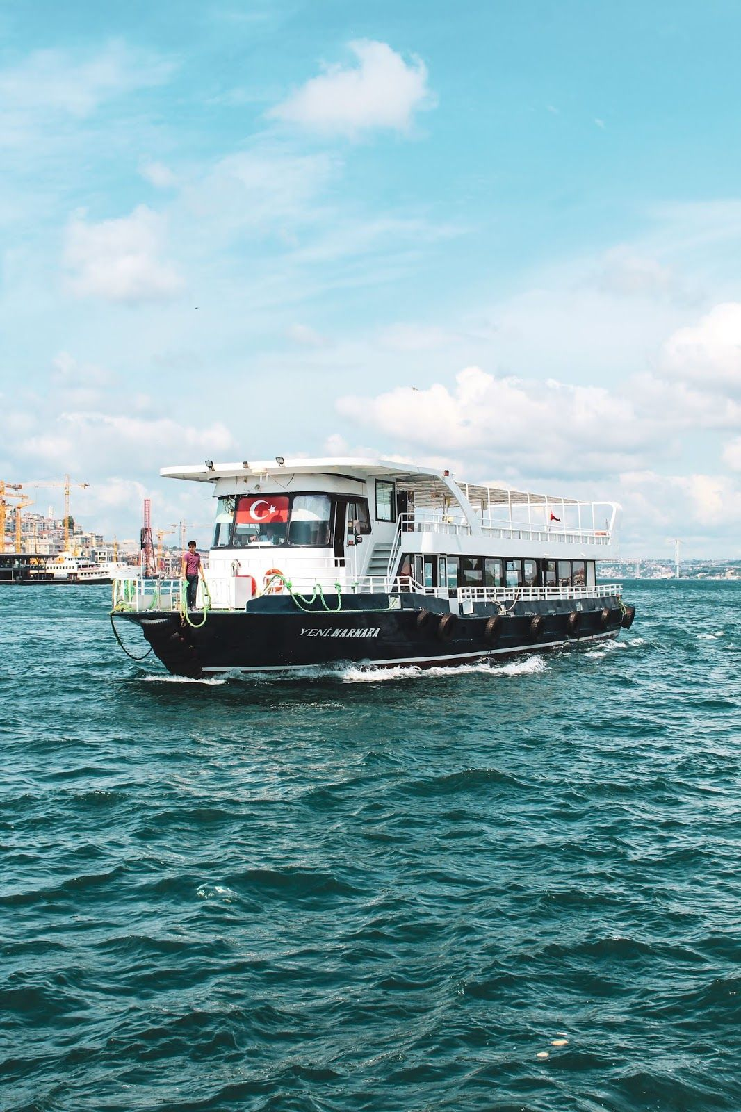 Tourist Transport Vessel In Istanbul Istanbul Tourist Transportation