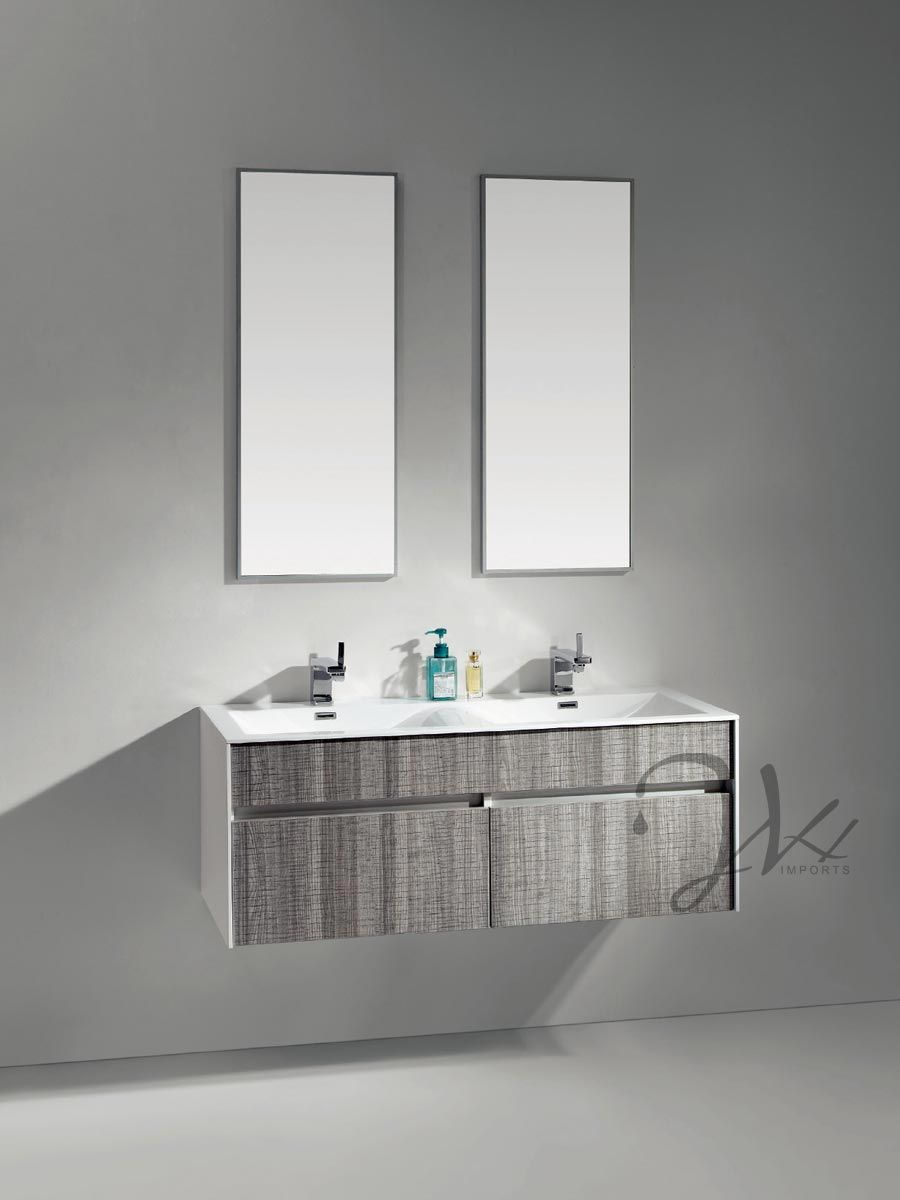The Gray Ash Facade On Flen Bathroom Vanity Is Inspired By European Design Euro Bathrooms Feature Bright Airy Es That Are Filled