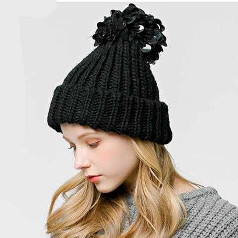 https://www.buyhathats.com/sequin-knitted-bobble-hat-pom ...