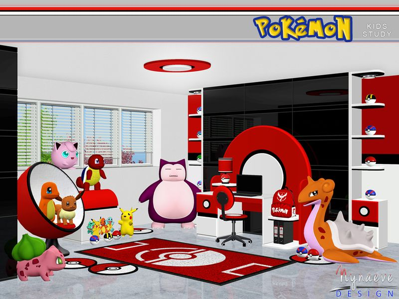 Motivate Sim Kids To Learn With This Pokemon Themed Study