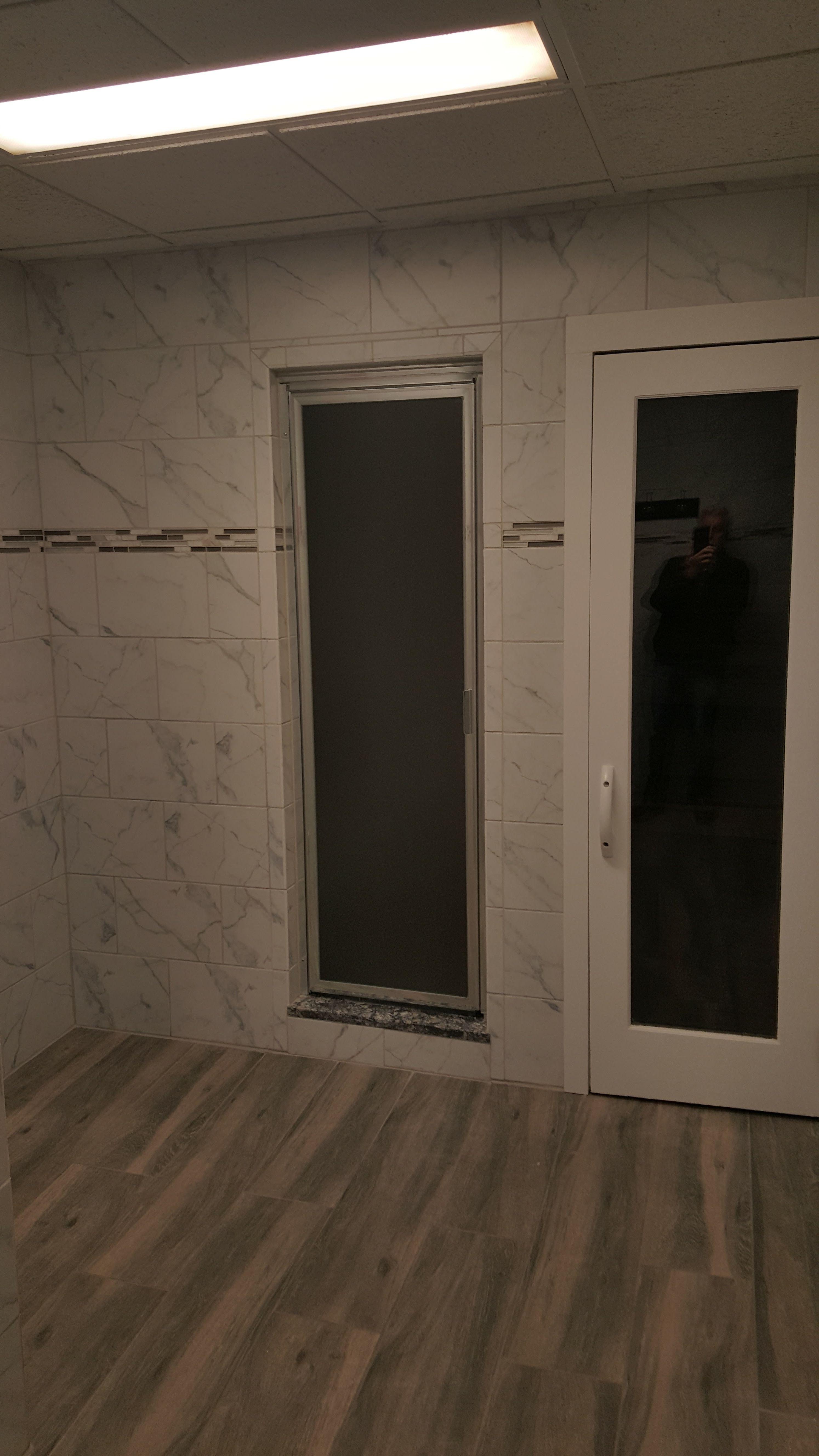 Steam room door by Cardinal Shower Enclosures. | Steam Shower ...