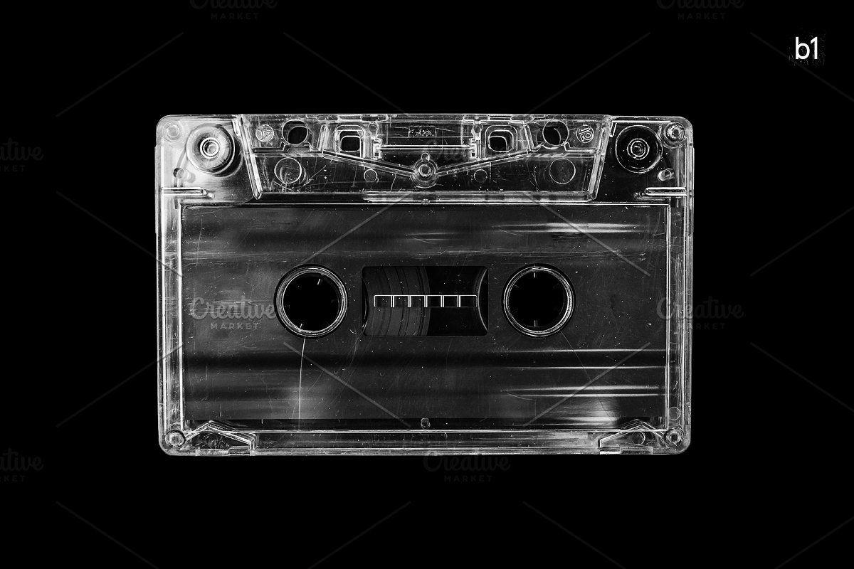 Cassette Tape Vintage Mockup Texture Graphic Design Cover Art Design Graphic Poster