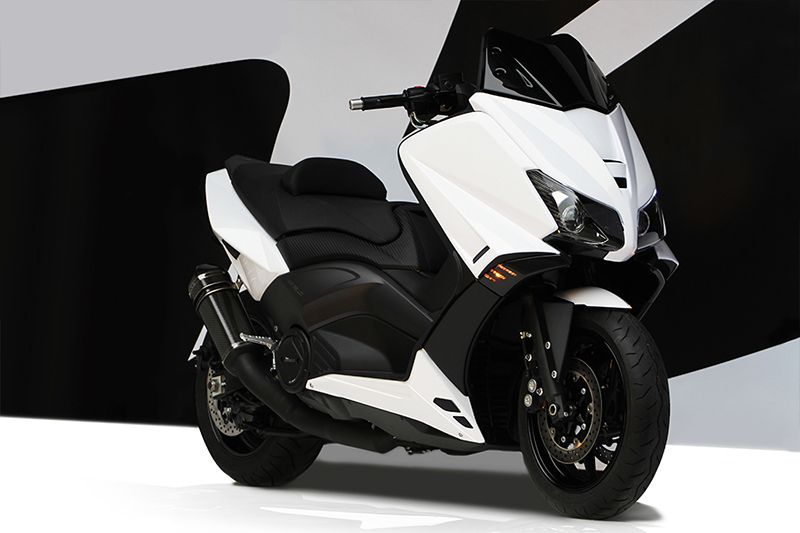 accessories tmax 530 bcd-design. short screen, front fairing