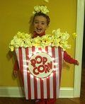 DIY Popcorn Costume - 2012 Halloween Costume Contest #mamp;mcostumediy
