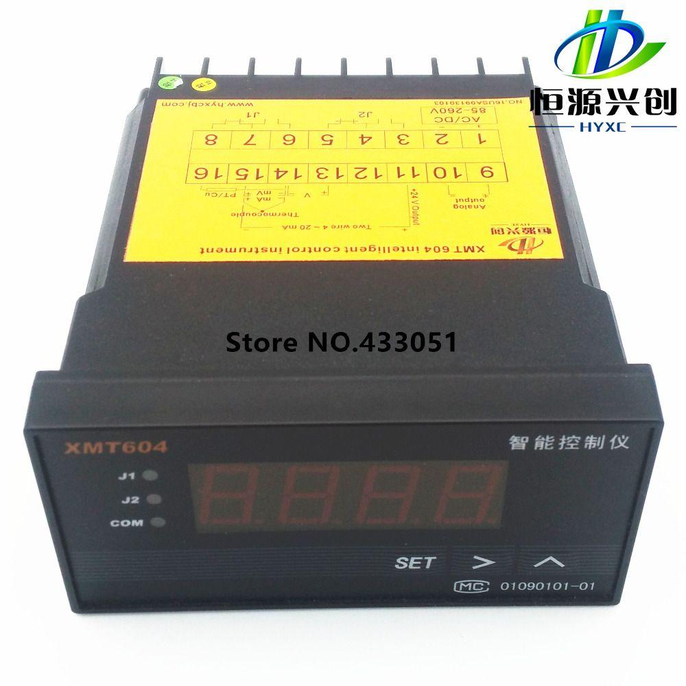 Xmt604 Intelligent Temperature Controller Pressure Controller Level Controller Temperature Control Digital Alarm Clock Digital