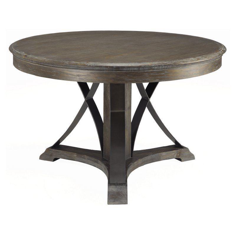 Coast To Arcadia Round Pedestal Dining Table 91761