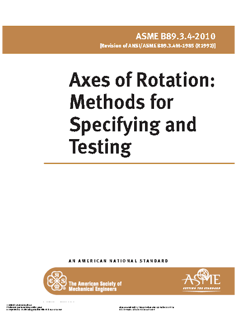 Axes Of Rotation  Methods For Specifying And Testing Asme B89 3 4