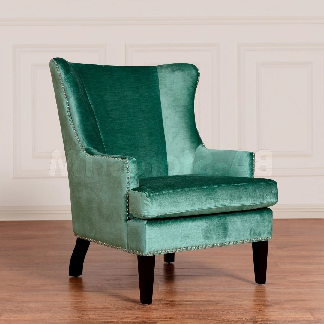 Best Trendy Aqua Accent Chair Furniture For Home Decoration 400 x 300