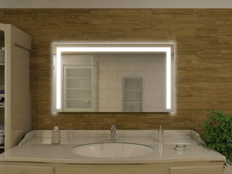 163u20ac 100x80 Badspiegel mit LED Beleuchtung - Green Bay M83L3