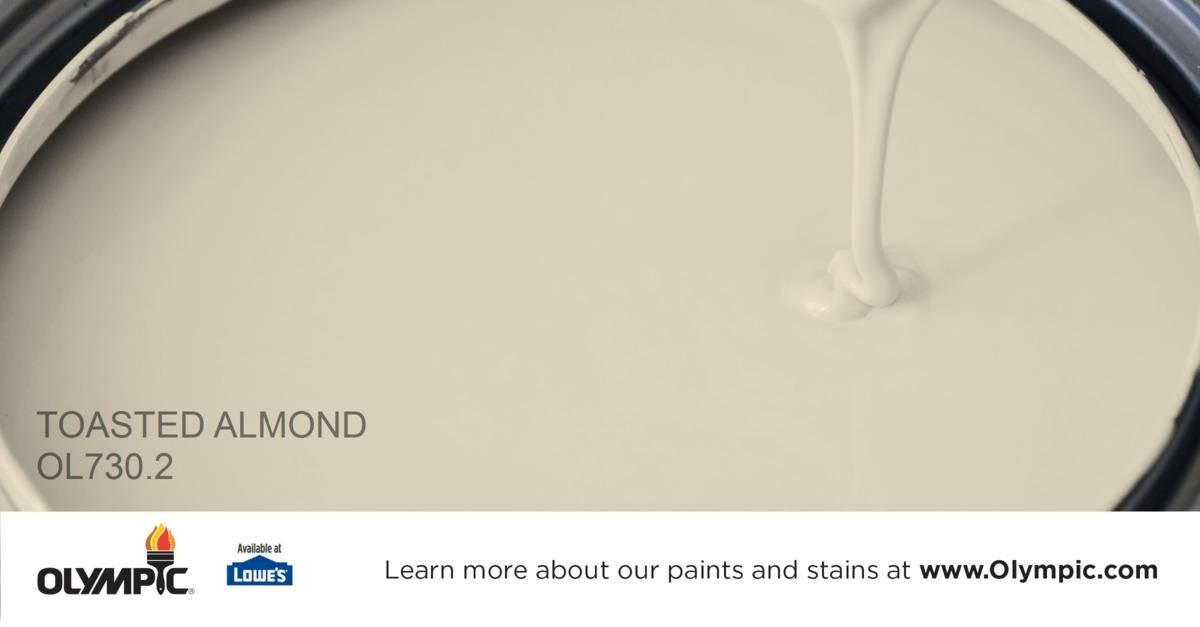 Toasted Almond Ol730 2 Is A Part Of The Beiges Collection By Olympic Paint