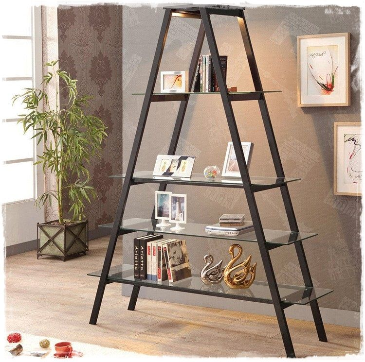 Escaleras estanterias decorativas de madera online for Estanteria de escalera