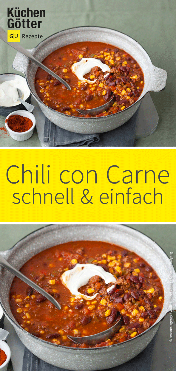 Photo of Chili con carne recipe – rediscover the Mexican classic