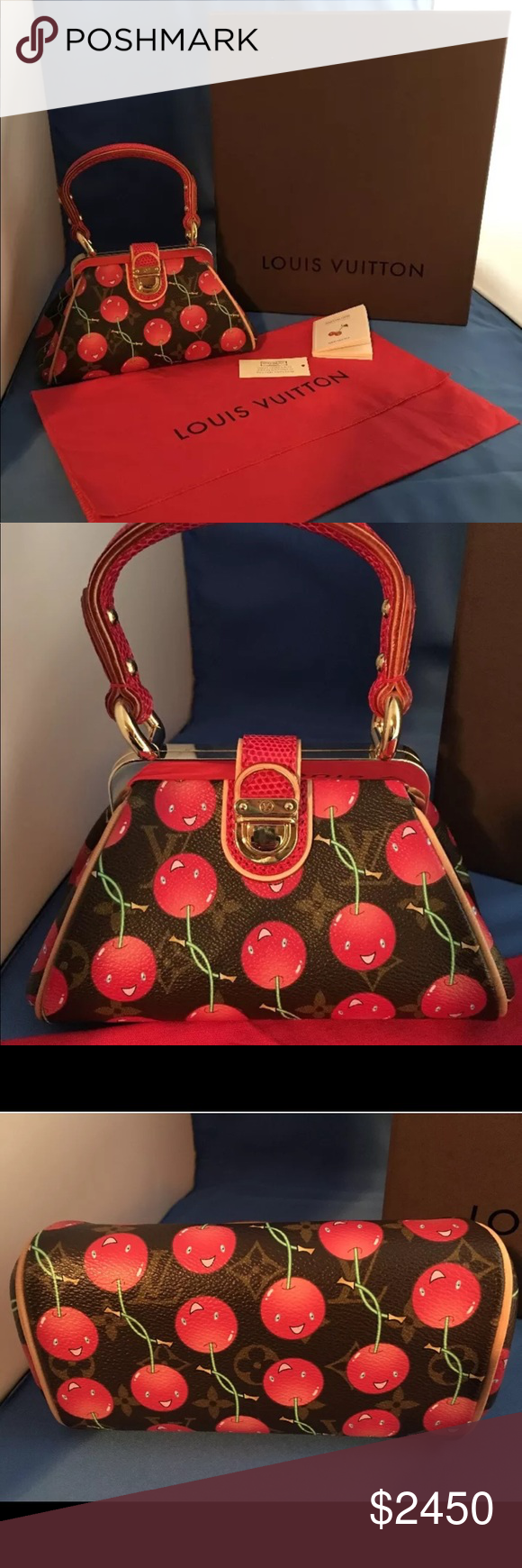 d71688a161a1 Spotted while shopping on Poshmark  Louis Vuitton Monogram Takashi Murakami  Purse 👛!  poshmark  fashion  shopping  style  Louis Vuitton  Handbags