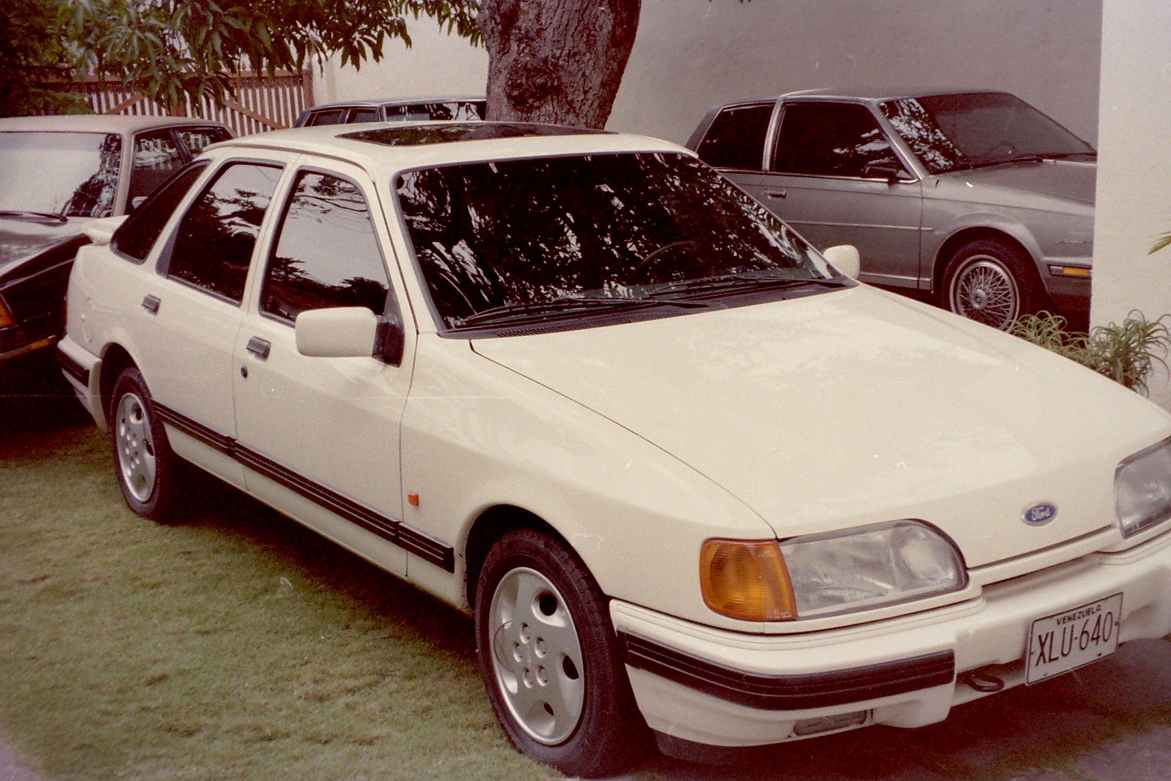 1990 Ford Sierra Xr6i Ford Motors Venezuela Pinterest