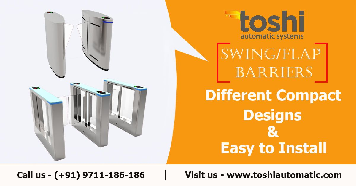 springless garage door on Swing Flap Barriers Barriers Automatic System