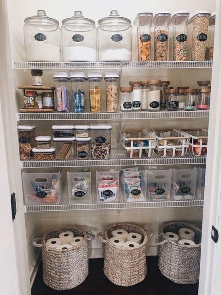 25 Best Pantry Organization Ideas We Found On Pinterest Godiygo Com Kitchen Organization Pantry Kitchen Organization Home Organization