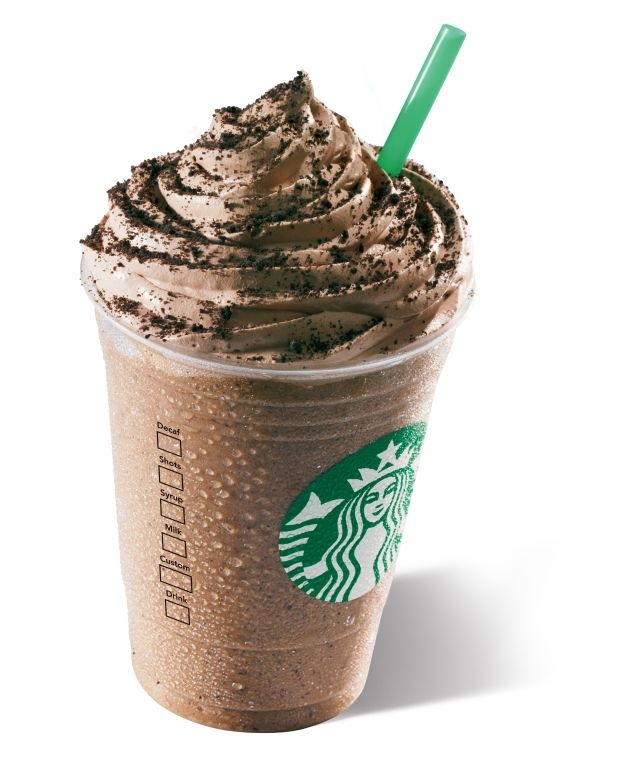 Chocolate Cookie Crumble Frappuccino.☺