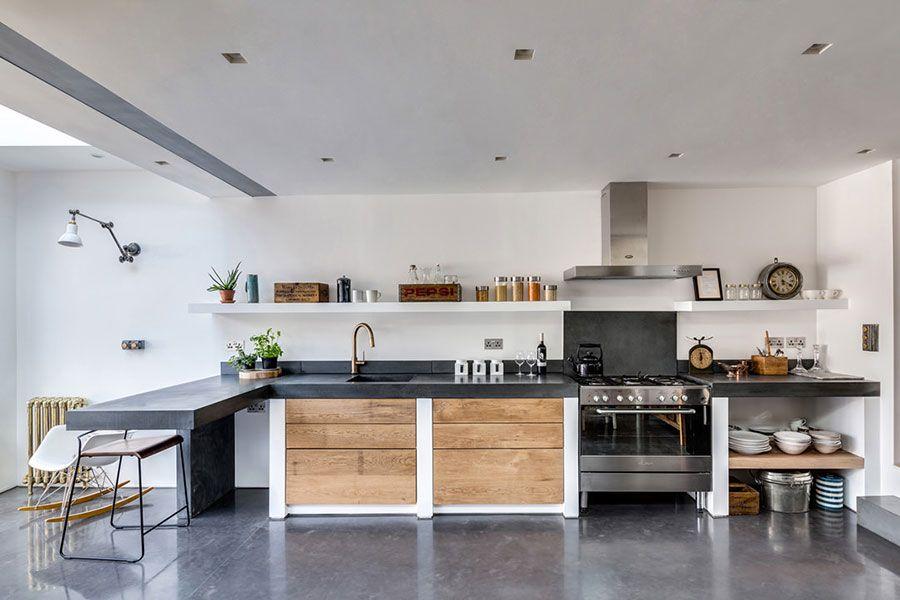 50 Foto Di Cucine In Muratura Moderne Nel 2020 Con Immagini