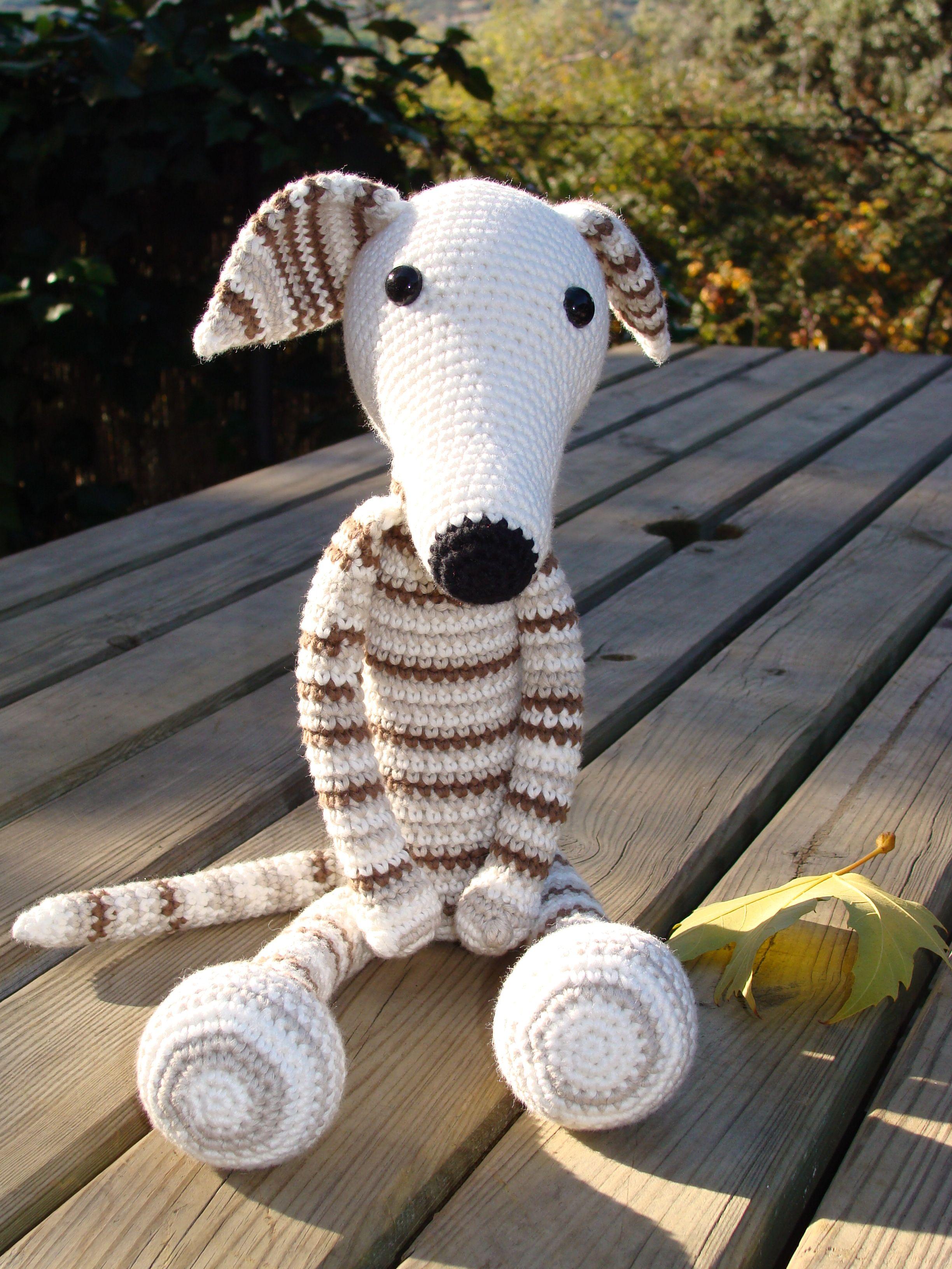 Greyhound autumn | Crochet dog patterns, Crochet toys ...