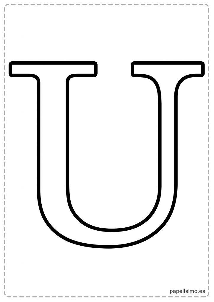 Letras Grandes Para Imprimir Moldes De Letras Abecedario Letras