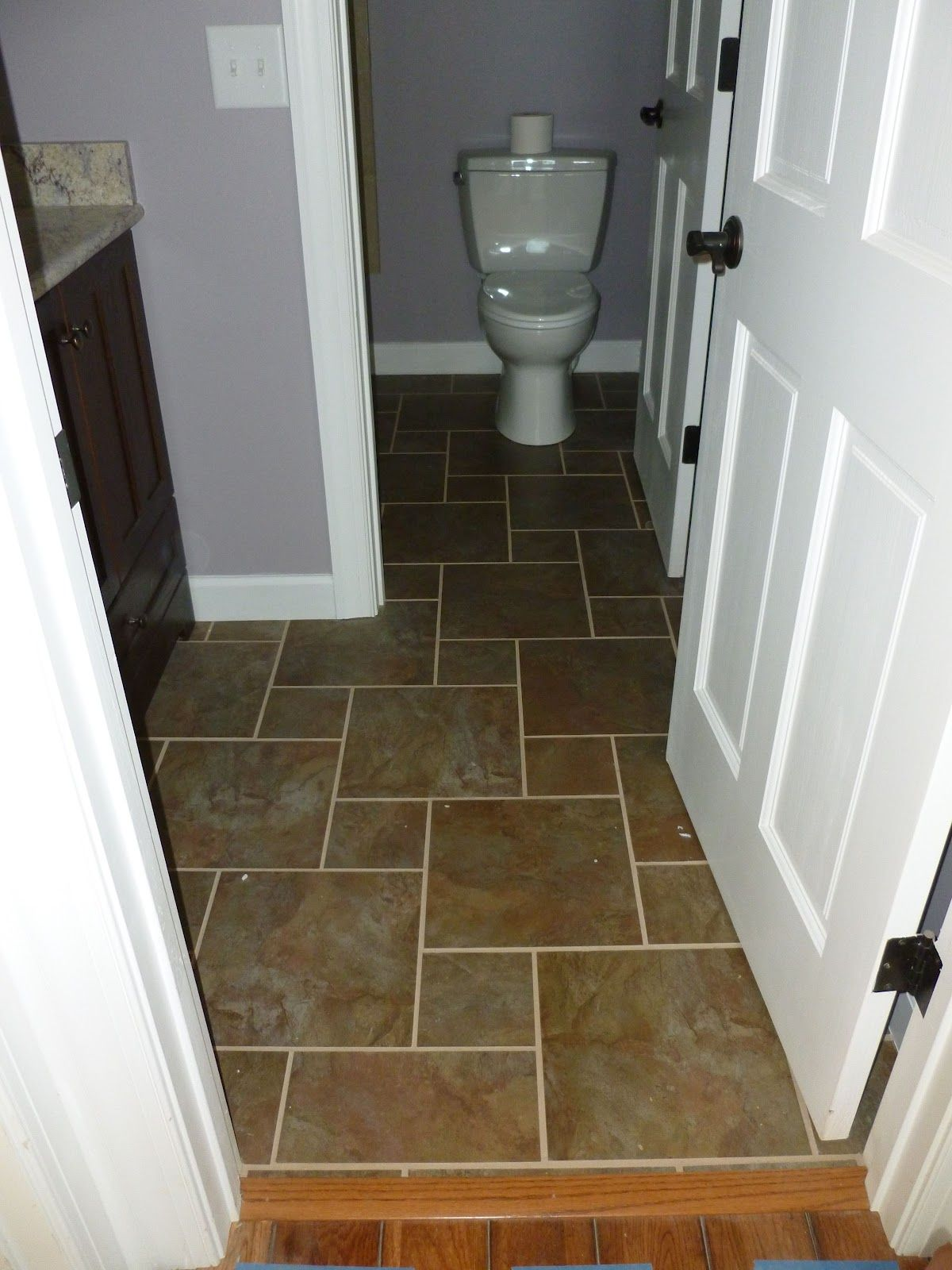 Love The Pattern With 12 And 6 Inch Tiles Would Look Great With A