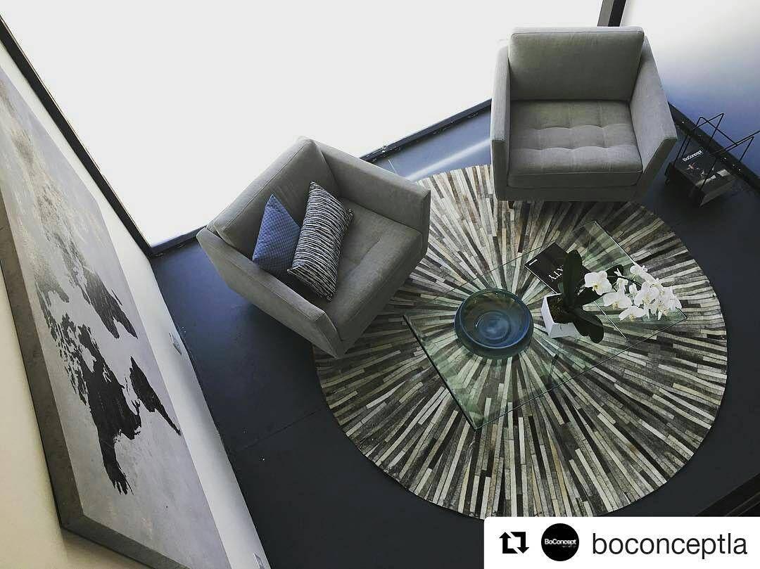 Bo Concept La Garde fotele osaka i dywan dimas cudowne połączenie osaka