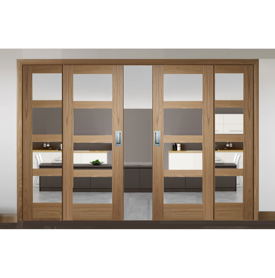 Sliding French Doors With Shaker Clear Glazed Doors Interior Barn