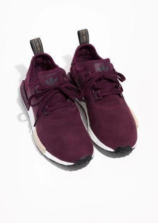 adidas nmd runner burgundy