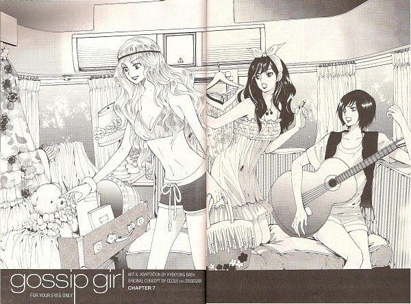 Tags: Anime, Baek Hye-kyung, Gossip Girl, Serena van der