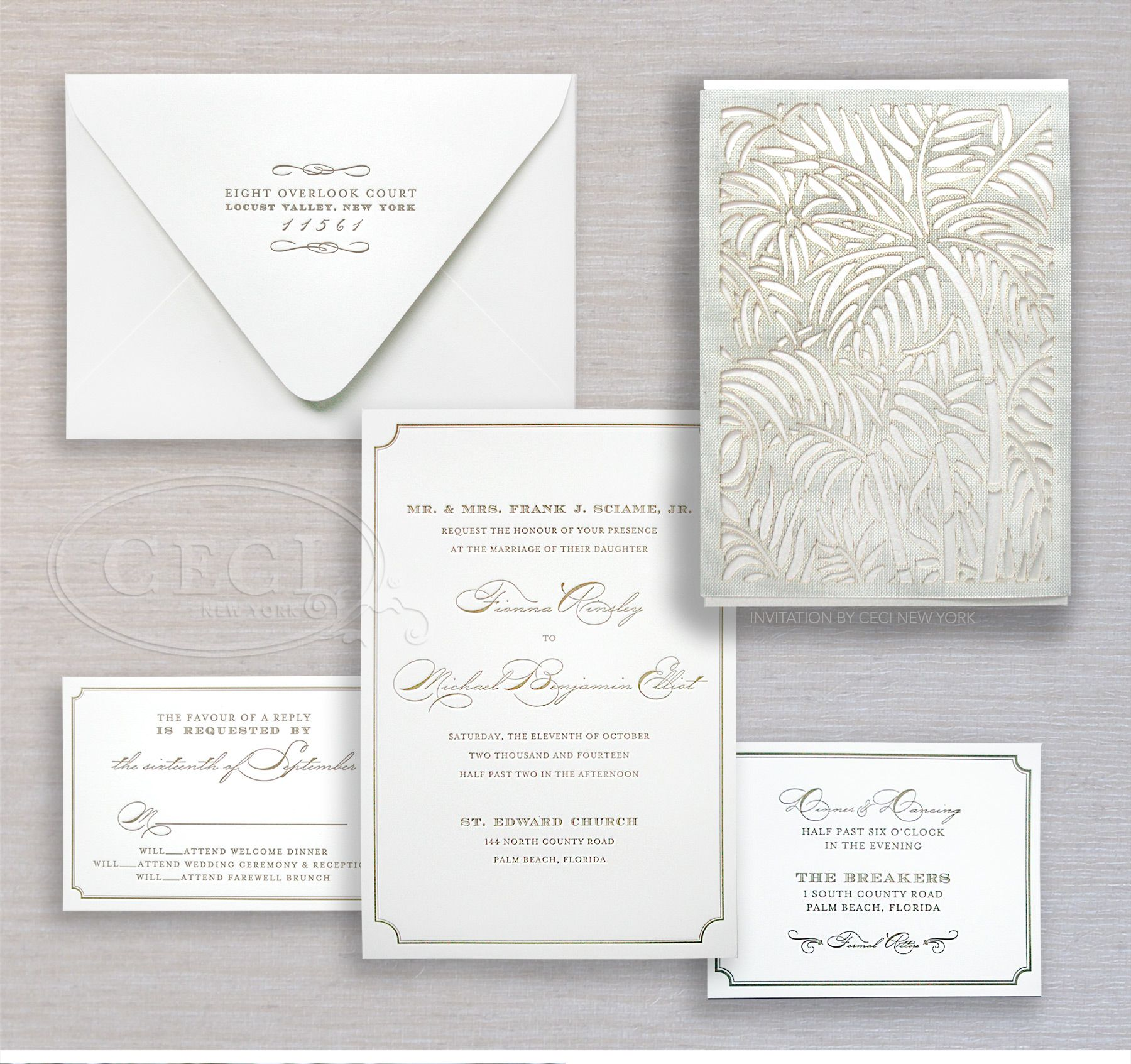 Luxury Wedding Invitations By Ceci New York: Luxury Wedding Invitations By Ceci New York