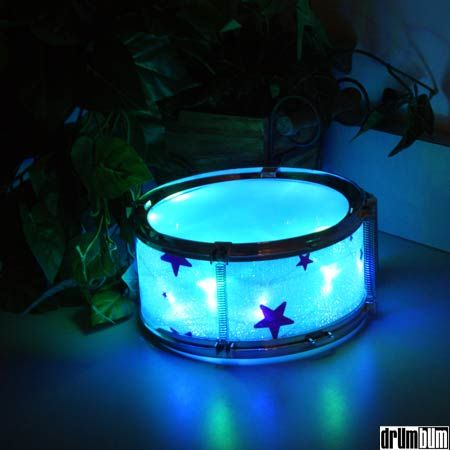 Drum Night Light - A great room decoration for your child who loves drums