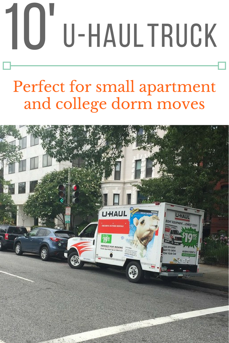 A 10 Truck Is The Smallest U Haul Box Truck Perfect For College Dorm Or Studio Apartment Moves It S Also Great For F Moving Truck Rental Moving Truck Trucks