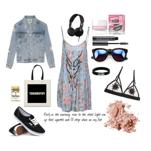 Meet Me In The Park by eva-pratt on Polyvore featuring Wildfox, UNIF, For Love & Lemons, Vans, John Hardy, Skullcandy, Bobbi Brown Cosmetics, Urban Decay, StreetStyle and Summer