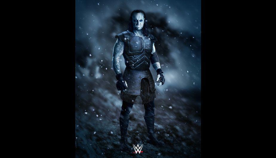 WWE: Brock Lesnar y otras superestrellas como monstruos para ...