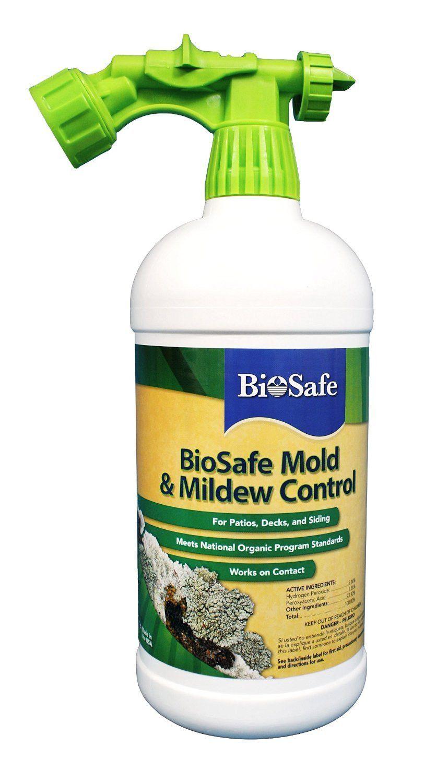 Biosafe Systems Mold Mildew Control Spray 32 Ounces
