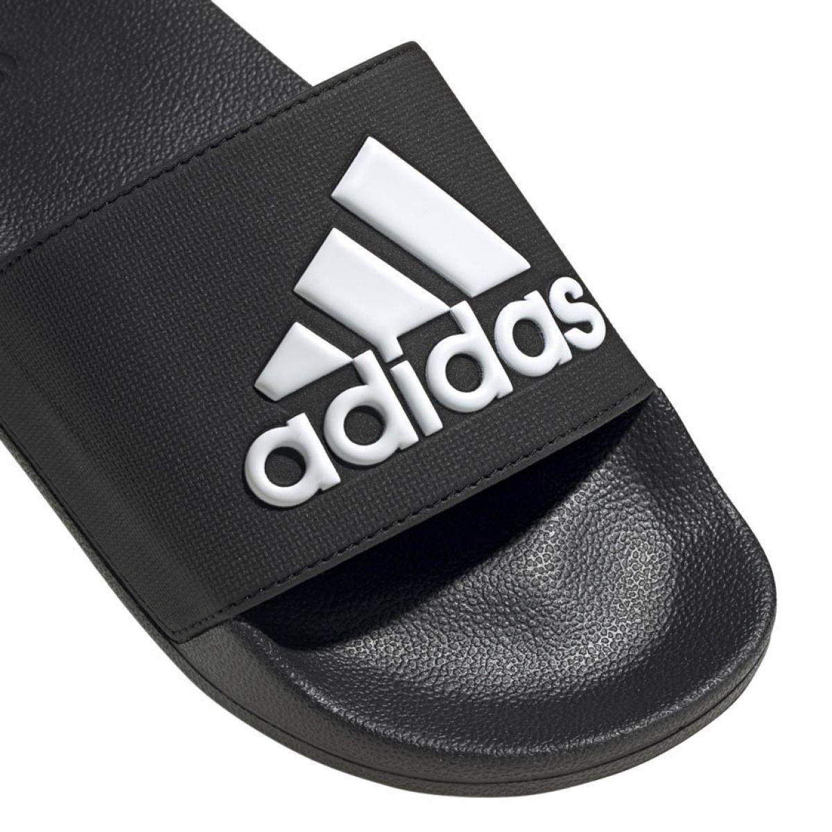 adecuado para hombres/mujeres Zapatos 2018 moda atractiva Adidas Adilette Shower M F34770 slippers black | Adidas, Black ...
