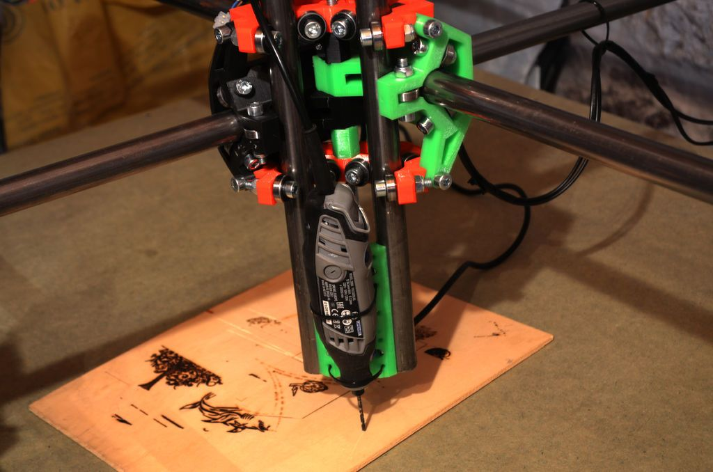 Cheap Scalable Arduino CNC, Plotter, Mill, 3D Printer