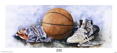Glenda Brown - All Stars - art prints and posters