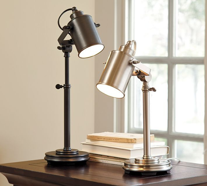 Pottery Barn Photographers Task Table Lamp Copy Cat Chic