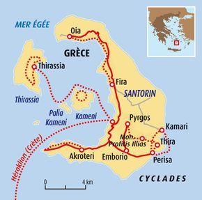 Circuit carte Grèce : … | Cyclades | Pinterest | Voyage
