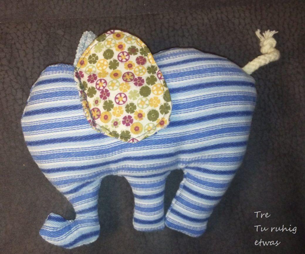 elefant-fertig | DIY | Pinterest | Elefanten, Bratschlauch und Rassel