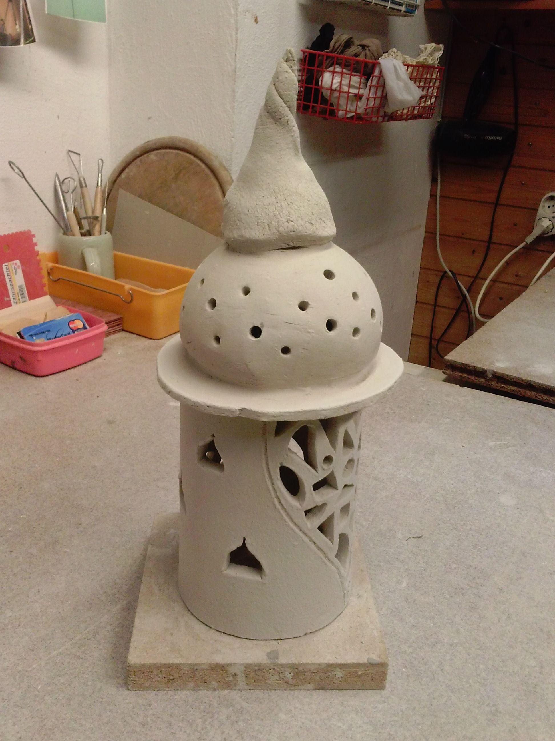 T pfern ton teelicht ton pinterest t pferei keramik und keramik ideen - Ideen aus ton ...