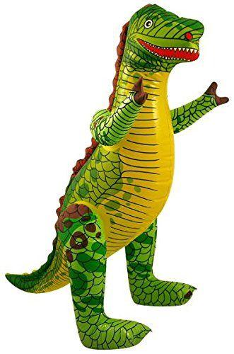 Inflatable Dinosaur 76cm Dinosaur toys, Dinosaur party