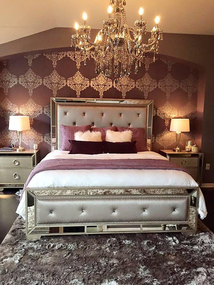z gallerie bedroom. From the Z Gallerie Ava Bedroom collection to Omni Chandelier  Rachel s Brocade Stenciled